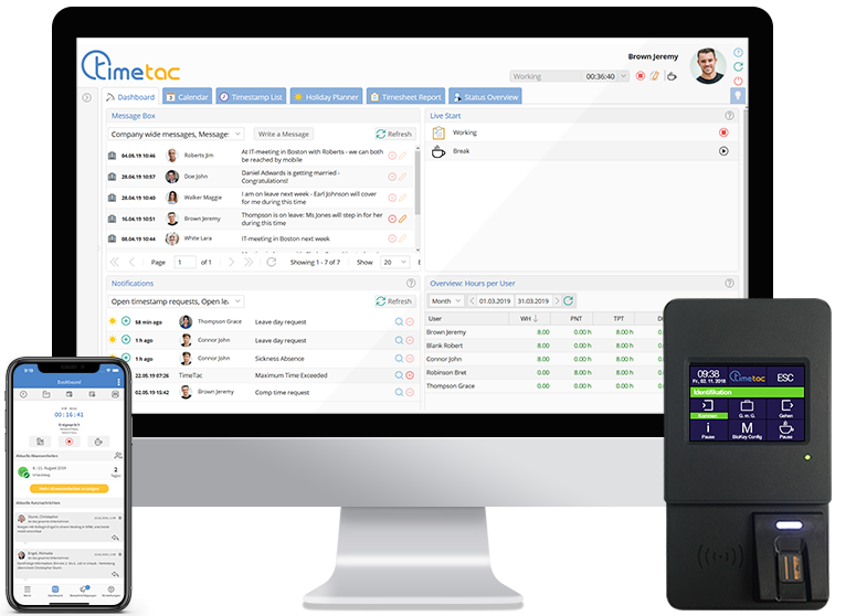 TimeTac Employee Time Tracking Software